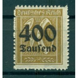 Germany - Deutsches Reich 1923 - Michel  n. 299 - Definitive (Y & T  n. 287)