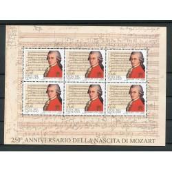 Vaticano 2006 - Mi. n. 1553 KB - Mozart