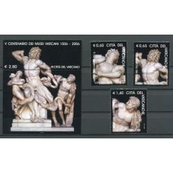 Vatican 2006 -  Mi. n. 1562/1564 + BL 28 - 500° dei Musei Vaticani