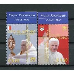 "Vatican 2005 - Mi. n. 1558/1559 - ""Viaggi del Papa""  Benedict XVI"