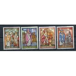 """Vatican 2007 - Mi. n. 1592/1595 - """"Viaggi del Papa"""" Benedetto XVI"""