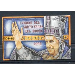 """Vatican 2007 - Mi. n. 1596 MH - """"Viaggi del Papa"""" Benedetto XVI"""