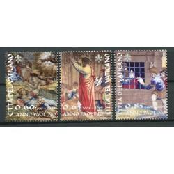 Vaticano 2008 - Mi.  n. 1619/1621- San Paolo