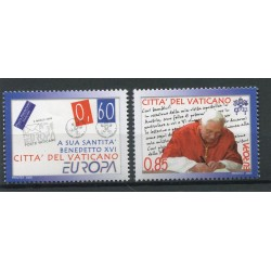 Vaticano 2008 - Mi. n. 1601/1602 - EUROPA La Lettera
