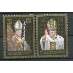 """Vatican 2008 - Mi. n. 1617/1618 - """"Viaggi del Papa"""" Benedetto XVI"""