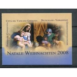 Vaticano 2008 - Mi. n. 1628 MH - Natale