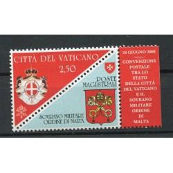 Vatican 2008 -  Mi. n. 1622 - Convenzione Postale con SMOM