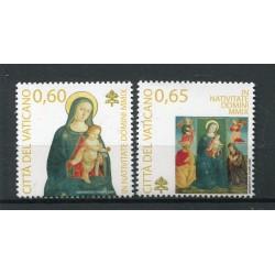 Vaticano 2009 - Mi. n. 1659/1660 - Natale