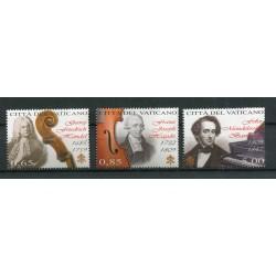 Vatican 2009 - Mi. n. 1654/1656 - Giornata della Musica