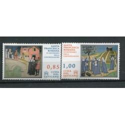Vaticano 2009 - Mi. n. 1640/1641 - Santa Francesca Romana