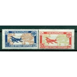 URSS 1927 - Michel n. 326/27 - Congrès de la poste aérienne ( Y & T n. 18/19 poste aérienne)