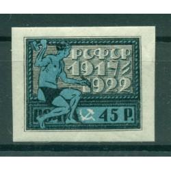 RSFSR 1922 - Y & T n. 174 - 5th anniversary of the Soviet Republic (Michel n. 199 x)