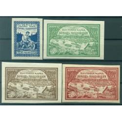 RSFSR 1921 - Y & T n. 153/56 - Au profit des affamés de la Volga (Michel n. 165/68 x)