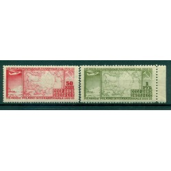 URSS 1932 - Y & T n. 31/32 posta aerea - 2° anno polare internazionale (Michel n. 410 A/11 B)