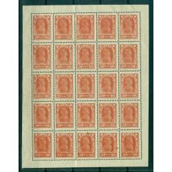 RSFSR 1922-23 - Y & T n. 207a - Serie ordinaria (Michel n. 210 A F e 211 A I)