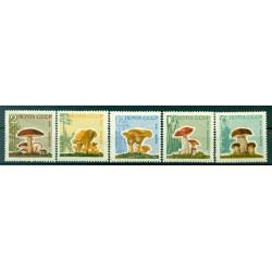 URSS 1964 - Y & T n. 2880/84 - Champignons divers
