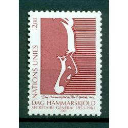 United Nations Geneva 2001 - Y & T n. 438 - Dag Hammarskjöld