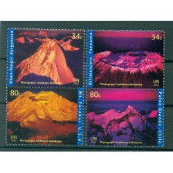 United Nations New York 2002 - Y & T n. 878/81 - International Year of Mountains