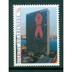 United Nations New York 2002 - Y & T n. 894 -  UNAIDS awareness