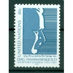 United Nations New York 2001 - Y & T n. 863 - Dag Hammarskjöld