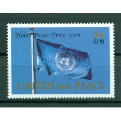 United Nations New York 2001 - Y & T n. 870 - The Nobel Prize for Peace - 2001