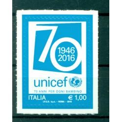 Italy 2016 - Y & T n. 3714 - UNICEF