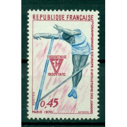 France 1970 - Y & T n. 1650 - Junior Athletics Championships