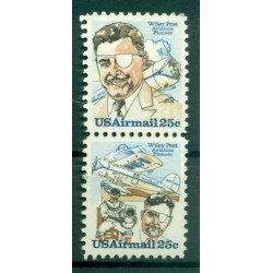 USA 1979 - Y & T n. 90/91 air mail - Wiley Post (Michel n. 1408/09)