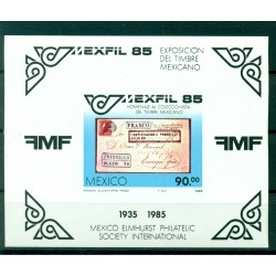"Mexico 1985 - Y & T  sheet n. 28 - ""Mexfil '85"" (Michel n. 28)"
