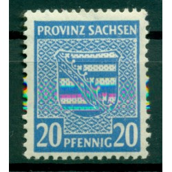 Saxony 1945 - Michel n. 81 X - Definitive  (Y & T n. 16)