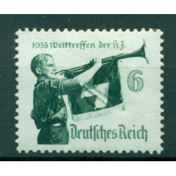 Germany - Deutsches Reich 1935 - Michel  n. 584 x - Hitler Youth  (Y & T  n. 543)
