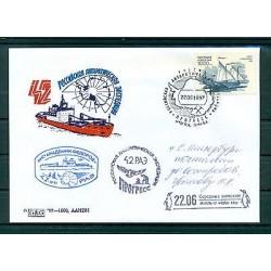 Russie - Russia - Enveloppe 1997 - Base antarctique Progress (ii)