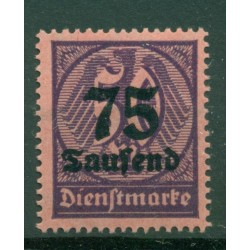 Germany - Deutsches Reich 1923 - Michel  n. 91 - Official stamps (Y & T  n. 39)
