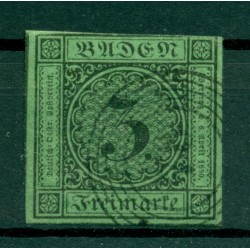 Germany - Grand Duchy of Baden 1853-58 - Y & T n. 6 - Definitive (Michel n. 6)