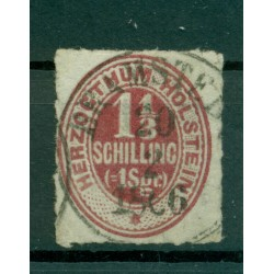 Germany - Holstein 1865-66 - Y & T n. 12 - Definitive (Michel n. 23)