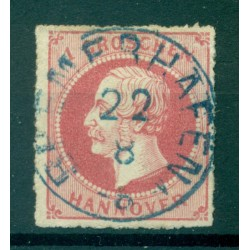 Germany - Hanover 1864 - Y & T n. 24 - Definitive (Michel n. 23 Y)