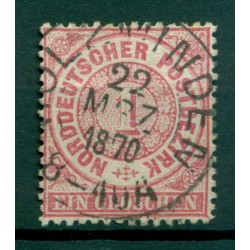 Germany - North German Confederation 1869 - Y & T n. 15 - Definitive (Michel n. 16)