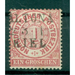 Germany - North German Confederation 1869 - Y & T n. 15 - Definitive (Michel n. 16) (ii)
