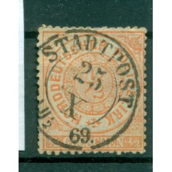 Germany - North German Confederation 1869 - Y & T n. 14 - Definitive (Michel n. 15)