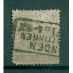 Germany - North German Confederation 1869 - Y & T n. 13 - Definitive (Michel n. 14 a)