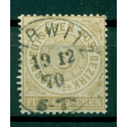 Germany - North German Confederation 1869 - Y & T n. 17 - Definitive (Michel n. 18)