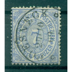 Germany - North German Confederation 1869 - Y & T n. 21 - Definitive (Michel n. 22)