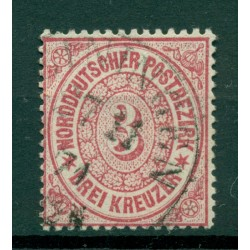 Germany - North German Confederation 1869 - Y & T n. 20 - Definitive (Michel n. 21)