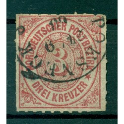 Germany - North German Confederation 1868 - Y & T n. 9 - Definitive (Michel n. 9)