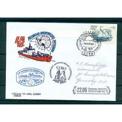Russie - Russia - Enveloppe 1997 - Base Antartique Mirnyj (ii)