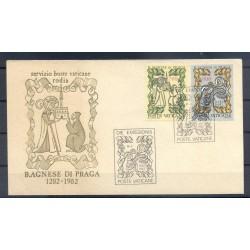 Vatican 1982 - Y & T n. 726/27 - Agnes of Prague (Michel n. 803/04)