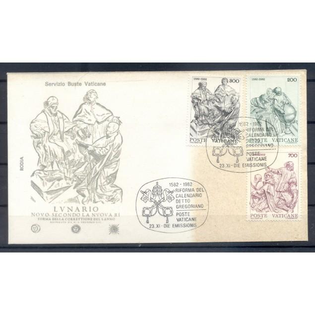 Vatican 1982 - Y & T n. 734/36 - Reform of the gregorian calendar  (Michel n. 811/13)