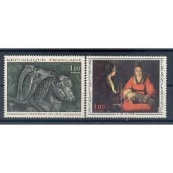 France 1966 - Y & T n. 1478/79 - Artworks (Michel n. 1541-52)
