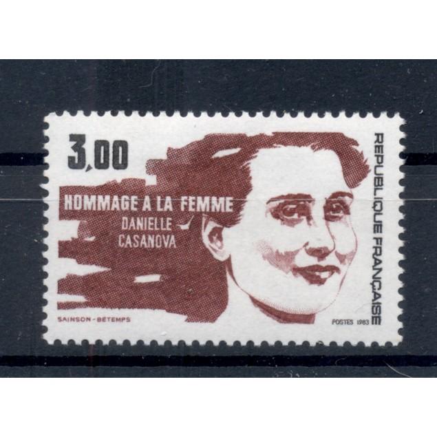 France 1983 - Y & T n. 2259 - International Women's Day (Michel n. 2385)