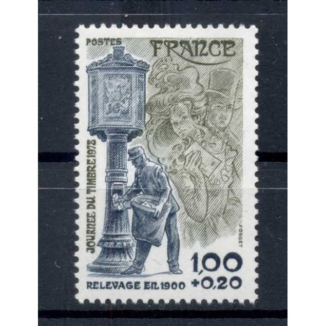 France 1978 - Y & T n. 2004 - Stamp Day (Michel n. 2092)